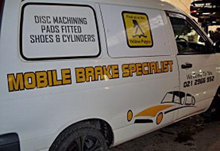Mobile Brake Van